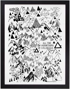 山をいろんな描き方で描いても面白いかも. そしたら、うちのテーマが山になる! そして、薔薇椿なら、薔薇を付け足してもおもしろいかも