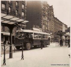 Paris bus, 1950s
