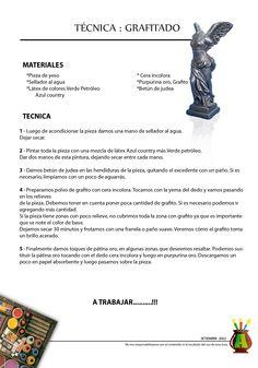 2002/09 - Consejo del Mes - Septiembre 2002 - Técnica : Grafitado