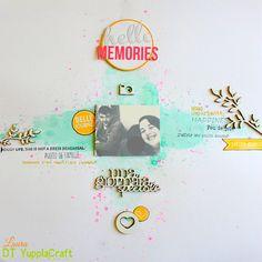 Grani di pepe: Hello memories - Layout