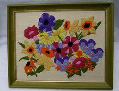 crewel floral