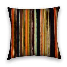 Throw Pillows, Pillows Covers, Pillows, Striped Pillows, Black Pillows, Orange Pillows, Ciao Bella Designs