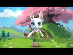 Easter messages for your friends and family — Zoobe - animated video messages, free app for iOS and Android. Get famous characters like The Smurfs, Maya the Bee. Easter Invitations, Easter Messages, Happy Easter Everyone, Youtube, Easter Crafts, Easter Ideas, Easter Bunny, Easter Eggs, Tinkerbell
