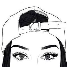 Outline, art, and eyes image more cute drawings, hipster Png Tumblr, Tumblr Hipster, Hipster Ideas, Hipster Blog, Tumblr Girl Drawing, Teenage Girl Drawing, Teenage Drawings, Tumblr Outline, Hipster Drawings