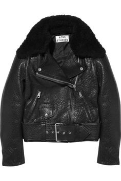 Acne shearling jacket! ace for winter!