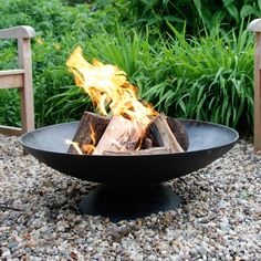 Have to have it. Esschert Design Giant Fire Pit - $269.98 @hayneedle