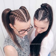 36 Pretty Chic Braided Hairstyles For Every Hair Type braids;easy braids… 36 Pretty Chic Braided Hairstyles For Every Hair Type braids;up style; 4 Braids Hairstyle, Pretty Braided Hairstyles, Easy Hairstyles For Medium Hair, Little Girl Hairstyles, Hairstyles With Braiding Hair, Hair Braiding Styles, Beautiful Hairstyles, Braids With Curls, Braids For Long Hair