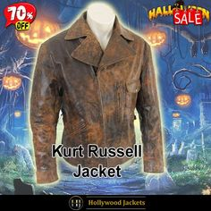 #Halloween Hot offer Get 70% #Movie Escape From La #SnakePlissken Distressed Leather Jacket. #HalloweenSale #Halloween #Sale #2021 #OOTD #Style #Cosplay #Costum #men #fashionstyle #women #jacket #shopnow #Clothes #leather #discountoffer #outfit #tvseris #onlineshopping #discount #buymypremium #celebrities #offers #fashion #movie
