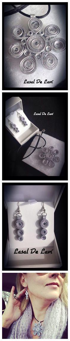 Bisuteria artesanal de papel #regalosEspeciales