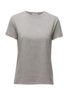 DAY - 2ND Tyra Crew neckline Relaxed fit T-Shirt Grey Neckline, Grey, Fit, Mens Tops, T Shirt, Shopping, Clothes, Fashion, Gray