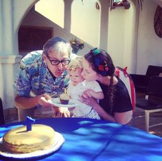Jeff Goldblum's Son Charlie Turns 1 - http://site.celebritybabyscoop.com/cbs/2016/07/04/goldblums-charlie-turns #Birthday, #CharlieGoldblum, #EmilieLivingston, #HappyBirthday, #JeffGoldblum, #Milesone