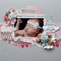 Too Cute Baby Girl - Scrapbook.com