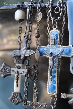 "Christine Wallace... ""Honoring Life Through Jewelry"": The Cross..."