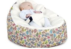 Comfort for your child from birth up to 30kg. Top layer has a safety harness, once baby has outgrown this, replace the top layer to continue using as a sofa. Avoid flat head & relieve reflux. Are waterproof & machine washable. They have a safety zip on the inside ensuring that no beans can escape. Seven different designs available. $40 + $12.50 postage Australia wide. *Do not leave child unattended. Email: bubblesbuttercups@yahoo.com.au https://www.facebook.com/BubblesButtercups