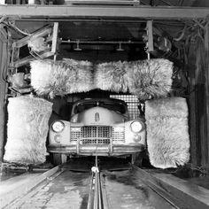 Vintage carwash!