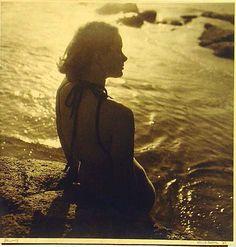 "Australian photographer, Olive Cotton, 1937 ""Jenny"""