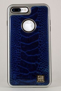 #carcasa #coleccion #resina #azul #Finger360 #iphone #7 #plus #moda #diseño