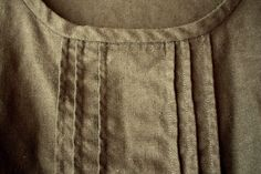 Sorbetto Top- pintuck detail by CreateAViewDesigns, via Flickr