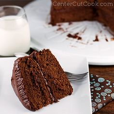 Portillo's Chocolate Cake - Betty Crocker mix and mayo!  This blows my mind!  I had to see for myself and it's no joke!!!  Anybody out there looking for a good chocolate cake for birthdays and such should check this out.