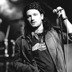 Bono...For his music and humanitarian work throughout the world...he has always been such an inspiration for me to give back and help those in need. U2 have provided me with a lifetime (literally)of incredible music.