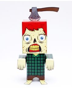 woodbitter papertoy