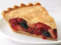 Fruit of the Forest Pie Recipe...OMG I can't wait to make this,Had one at a Farmers Market & they are to die for...I Love Strawberries & Rhubarb together in anything :)