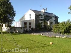 stone 4/5 bed house on 1.3 acres