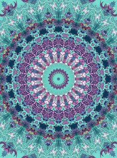 ☮ American Hippie Art ☮ Mandala