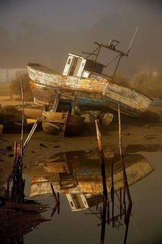 Lost | Forgotten | Abandoned | Displaced | Decayed | Neglected | Discarded…