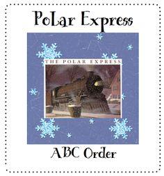 Pitner's Potpourri: Polar Express ABC Order -- Freebie