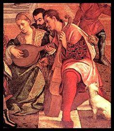 Itallian, mid 1500s, Bonifacio Veronese.