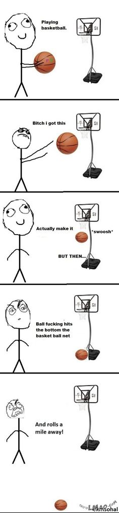 Funny picture: BasketBall Rage
