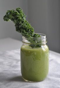 Green Goddess Goodness Smoothie http://fivefocus.ca/brighten-your-day-smoothies/