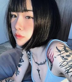 There is no disadvantage to tossing as a result of a spg tresses trend report. Bob Hairstyles For Thick, Boy Hairstyles, Asian Tattoos, Girl Tattoos, Kylie Jenner Blue Hair, Korean Girl, Asian Girl, Asian Short Hair, Super Short Hair