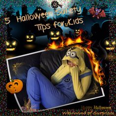 Whirlwind of Surprises: 5 #Halloween #Safety #Tips for #Kids & my #Awesome #Minions #Costume #ad #costumes #HalloweenCostumes #Kids