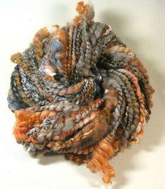 Fritillary super-bulky art yarn for knitting, weaving, crocheting (4.3 ounces, 48 yards)