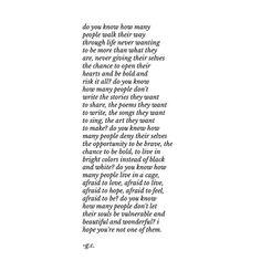 brave. | poem by Gaby Comprés [gabywrites]