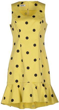 Moschino Cheap & Chic Short Dress in Yellow