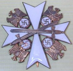 WWII Order of the German Eagle 4th Class With Swords.
