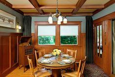 Craftsman Bungalow Interiors   Traditional Interior Design - Deb Kadas