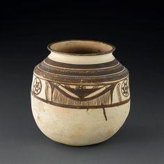 Jarre à décor peint, vers 2000 av J. Mohenjo Daro, Louvre, Persian Motifs, Virtual Museum, Grand Palais, Le Far West, Vase, Prehistory, Ceramic Clay
