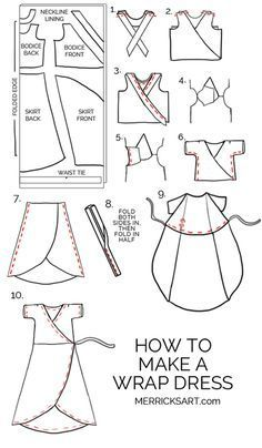 If you love sewing, then chances are you have a few fabric scraps left over. You aren't going to always have the perfect amount of fabric for a project, after all. If you've often wondered what to do with all those loose fabric scraps, we've … Dress Sewing Tutorials, Sewing Hacks, Sewing Tips, Tutorial Sewing, Sewing Basics, Diy Couture, Leftover Fabric, Love Sewing, Sewing Art