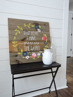 John 16:33 by BarnWoodDesigned on Etsy