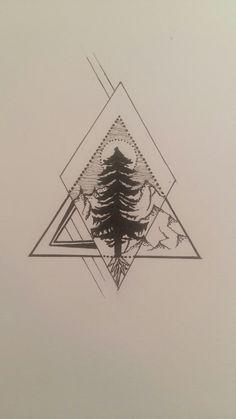 Natural/ Tree/ Tattoo idea