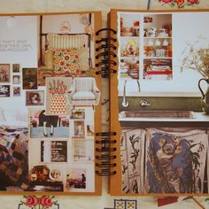 home inspiration scrapbook
