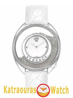 Versace Women Wrist Watch on YOOX. The best online selection of Wrist Watches Versace. YOOX exclusive items of Italian and international designers - Secure payments Cool Watches, Watches For Men, Women's Watches, Wrist Watches, Datejust Rolex, Online Fashion Stores, Stainless Steel Bracelet, Luxury Jewelry, Silver Bracelets