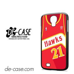 Hawks Basketball Jersey DEAL-5192 Samsung Phonecase Cover For Samsung Galaxy S4 / S4 Mini
