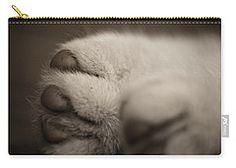 Carry-all Pouch featuring the photograph Softness by Elena Ivanova IvEA #ElenaIvanovaIvEAFineArtDesign #Decor #Gift #CarryAllPouches