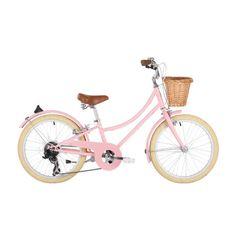 Wiggle France | Vélos enfant - 7 ans et plus | Vélo Fille Bobbin Gingersnap 20 pouces (rose pâle)