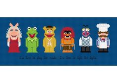 The Muppet Show Cross Stitch Pattern by PixelPower on Craftsy.com